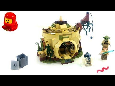 Vidéo LEGO Star Wars 75208 : La hutte de Yoda