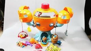 Октонавты в кемпинге. Развлекающие и развивающие видео обзоры детских игрушек