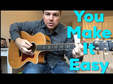 You Make It Easy | Jason Aldean | Beginner Guitar Lesson Mp3
