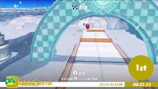 【MARIO ODYSSEY】雪之國 5.重新出發!彈跳博爾GP