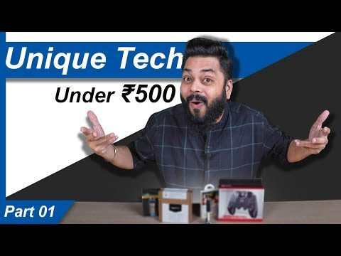 Top 5 Best Unique Tech Gadgets Under Rs.500 | Part I ⚡⚡⚡ (March 2020)