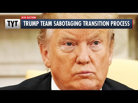 Trump Appointee Sabotaging Transition Process
