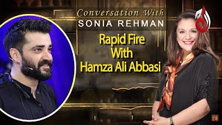 Rapid Fire With Hamza Ali Abbasi | Sonia Rehman | Hamza Ali Abbasi | Best Scene