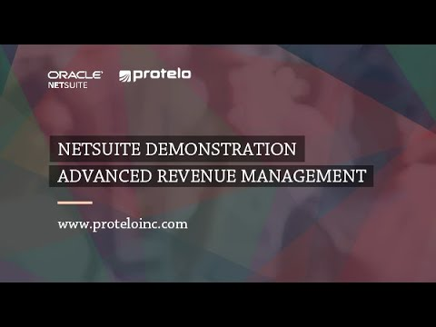 Advance Revenue Management in NetSuite - YouTube
