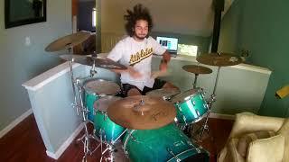 Phoebe Cates- Fenix TX [Drum Cover]  *pool scene included*