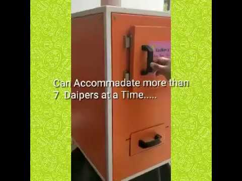 User Friendly Pad Incinerator Machine