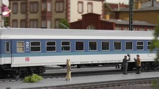 preview picture of video 'Modellbahn Miniaturwelt Wolfratshausen 3-Leiter Wechselstromsystem von Märklin'