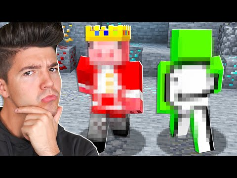 Guessing Minecraft YouTubers Using ONLY Their Gameplay!