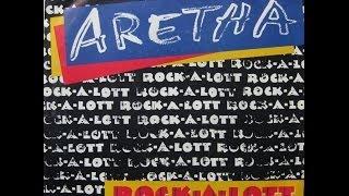 "Aretha Franklin - Rock-A-Lott / Look To The Rainbow - 7"" - 1987"