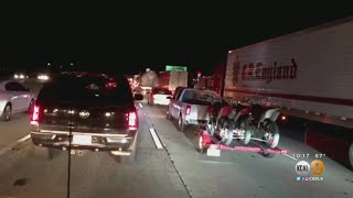 Are Fires To Blame For Massive Backup On 15 Freeway?
