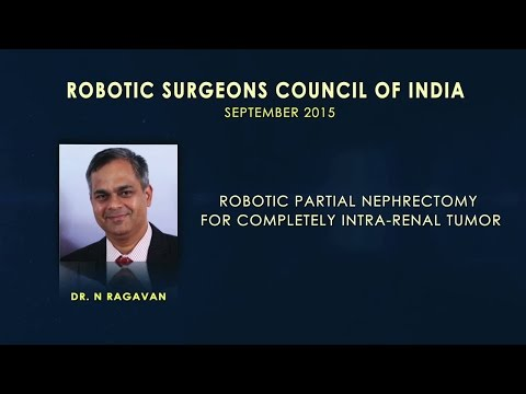 Robotic Partial Nephrectomy for Completely Intra-Renal Tumor