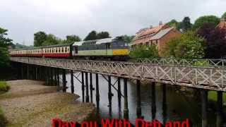 Day Out With Deb And Dave .Whitby And NYMR Diesel Gala 2015