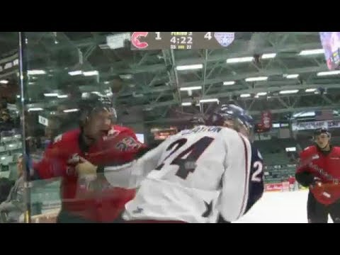Brett Clayton vs Mike MacLean