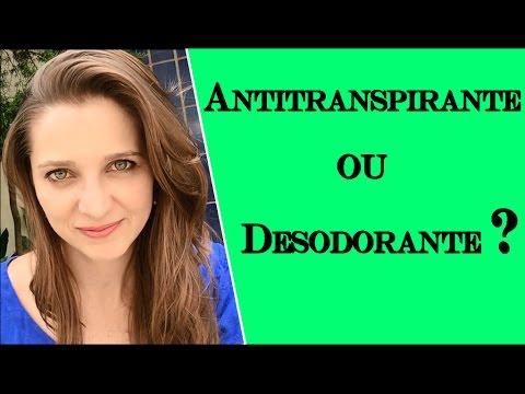 Antitranspirante ou Desodorante? | COSMÉTICOS #06