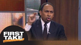 Stephen A. Smith goes off about LeBron James vs. Celtics without Kyrie Irving | First Take | ESPN