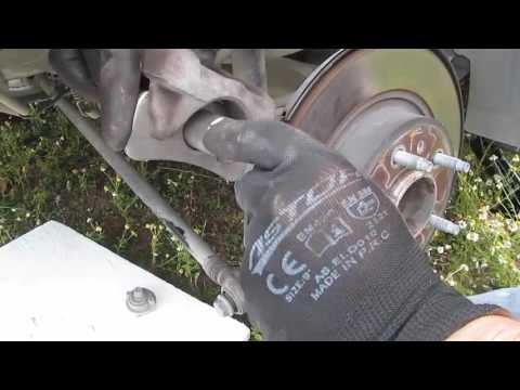 Opel Astra  J 1.6 Dizel Sport Elektronik El frenli Model Arka Fren Balatası Değişimi