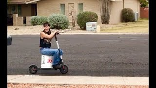 my hillbilly neighbor hot wires a bird scooter   Kholo.pk