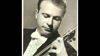 Henryk Szeryng plays Beethoven Violin Romance No.2, Op.50