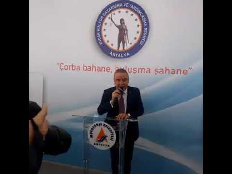 Belediye başkanları Tarhana çorbası etkinliğinde