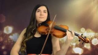 Here I Am To Worship Violin Cover