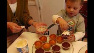 Betty Makes Birthday Cupcakes With Grandson Carter