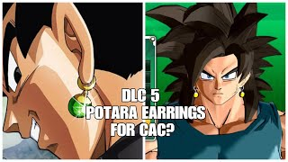 DRAGON BALL XENOVERSE 2 DLC 5 Potara Earrings For CAC?