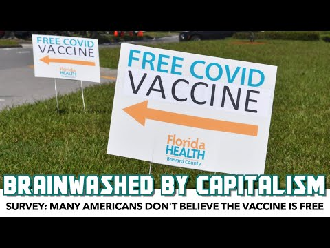 Survey: Many Americans Don't Believe The Vaccine Is Free