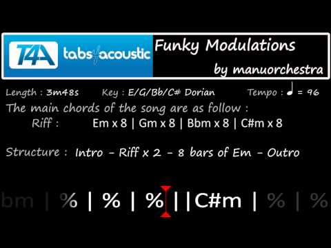 <b>Accompagnez-vous</b><br />Modulations Funky