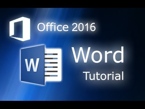 Microsoft Word 2016 – Full Tutorial for Beginners [+General Overview]*  – 13 MINS!