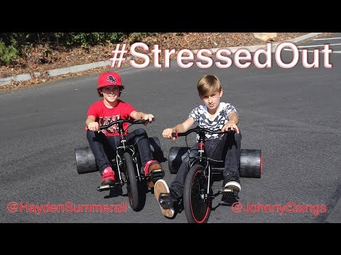 twenty one pilots is AMAZING and we knew we had to cover this song the minute we heard it!!   Stressed Out [OFFICIAL VIDEO] Cover by Hayden Summerall and Johnny Orlando