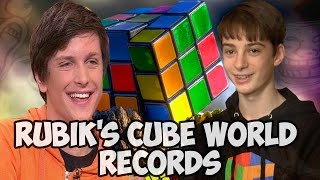 Rubik's cube world records  New Edit
