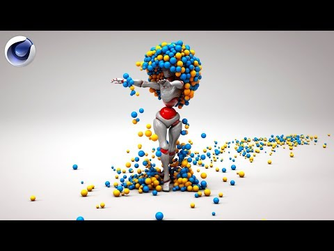 Cinema 4D Dancing Character Animation Tutorial | Cinema 4D Motion Graphics Tutorial