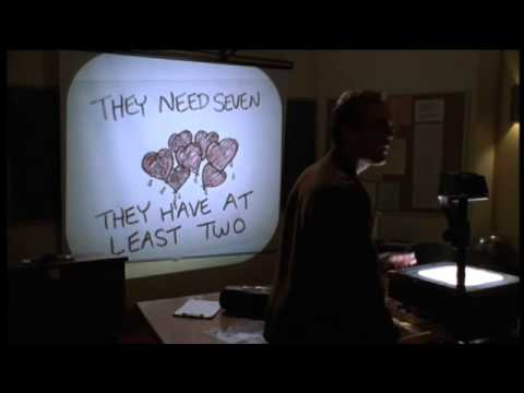 """Buffy the Vampire Slayer"" – Episode ""Hush"": Giles explains without words"