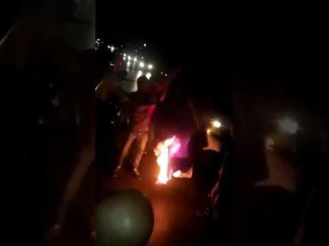 Hz. Muhammed'e Hakaret Fransa Büyükelçiliği Önünde Protesto Edildi