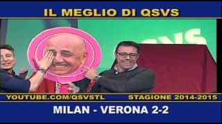 preview picture of video 'QSVS - I GOL DI MILAN - VERONA 2-2  - TELELOMBARDIA/TOP CALCIO 24'