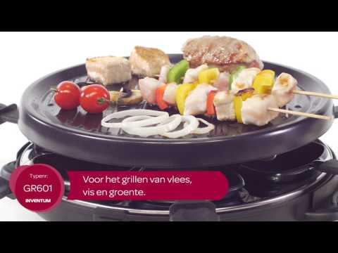 Inventum GR601 raclette/gourmet set