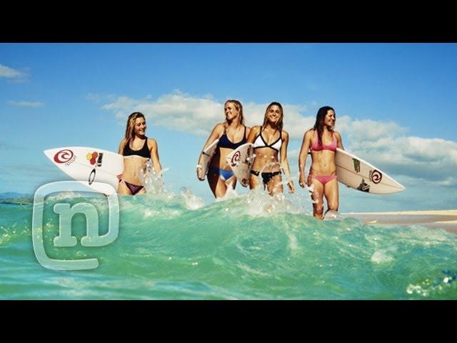 Surfs Up! Alana Blanchard & Rip Curl Australian Surfing Session! Ep. 308