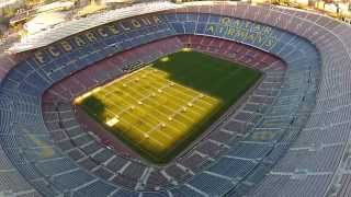 preview picture of video 'FC Barcelona Stadium, Barça - BCNDJI - Camp Nou - DJI Phantom 2 Vision + footage'