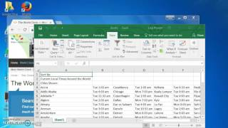 Web Query Excel 2016: Importing data from a website to your spreadsheet