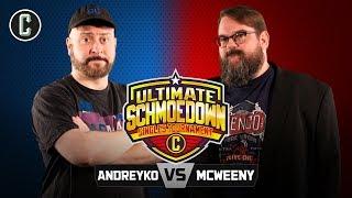 Singles Tournament! Marc Andreyko VS Drew McWeeny - Movie Trivia Schmoedown
