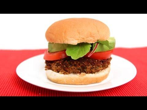 Homemade Veggie Burgers Recipe – Laura Vitale – Laura in the Kitchen Episode 619
