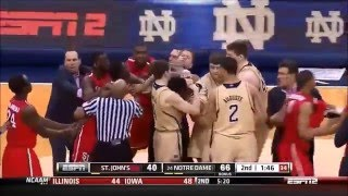 Top 10 College Basketball Fights & Brawls