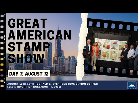 Day 1: Great American Stamp Show