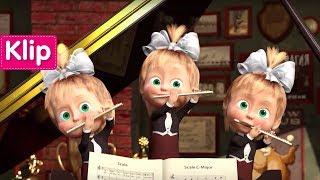 Maşa İle Koca Ayı - Piyona Dersi 🎻(Maşa'nın orkestrası)