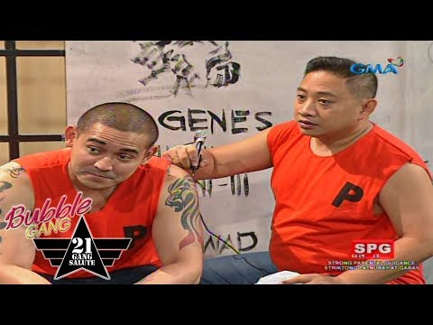 Bubble Gang: Joaquin-jection, kilabot ng selda