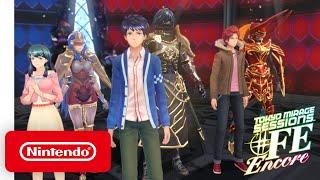 Tokyo Mirage Sessions #FE Encore - Battle Trailer - Nintendo Switch