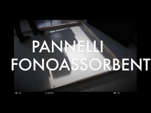 Pannelli Acustici fai da te per Project Studio