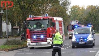 Gasexplosion in Ludwigshafen-Oppau am 23.10.2014 | Einsatzfahrten