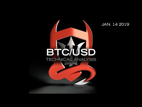 Bitcoin Technical Analysis (BTC/USD) : Too Soon to Put the Bear Spray Away…   [01.14.2019]