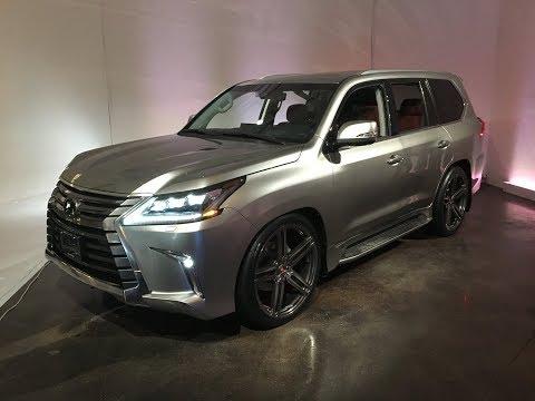 2017/2018 LEXUS  LX570 dropped on VOSSEN  Wheels!!!!!